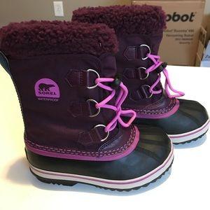 Girls Sorel winter boots